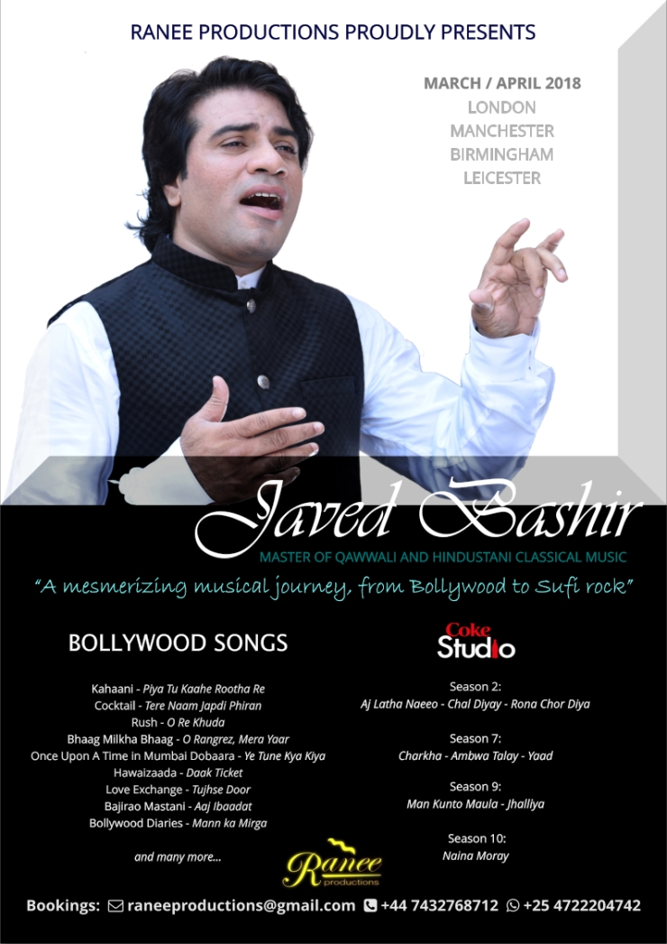 Javed Bashir poster concept UK tour version 20.10